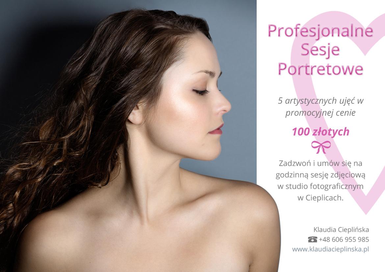 Promocja! Fotografia portretowa Jelenia Góra