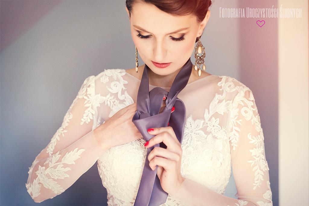 Zdjęcia ślubne przygotowania Jelenia Góra