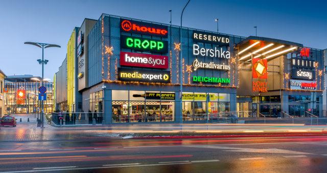 Zdjęcia reklamowe - galeria Nowy Rynek
