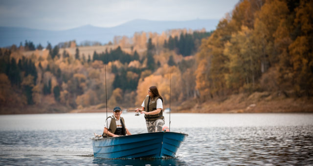 Sesja zdjęciowa na jeziorze Pilchowickim