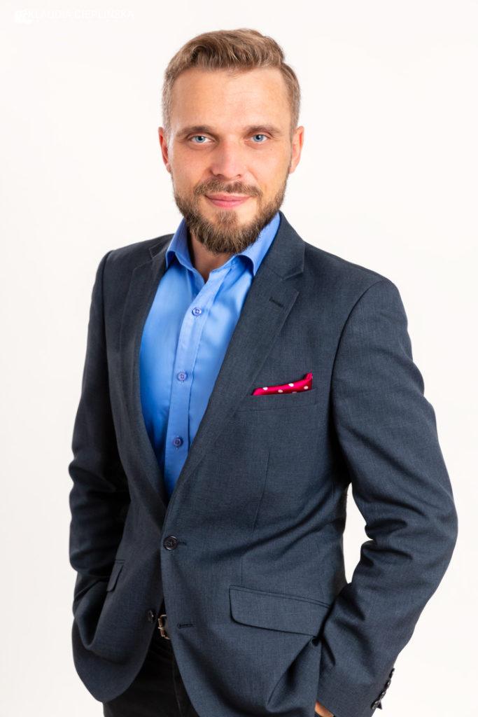 portret polityka Katowice