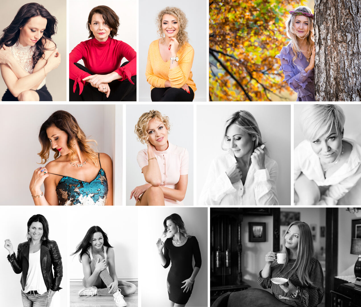 zdjęcia portretowe kobiet